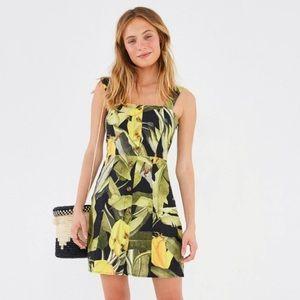 FARM Rio Banana Craze Mini Dress